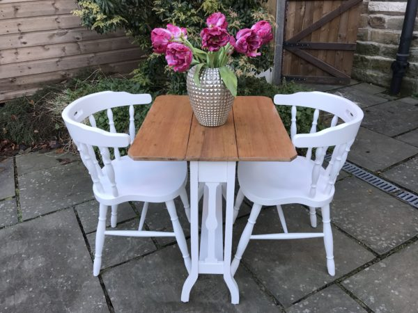 Dining Table & 2 Captain's Chairs
