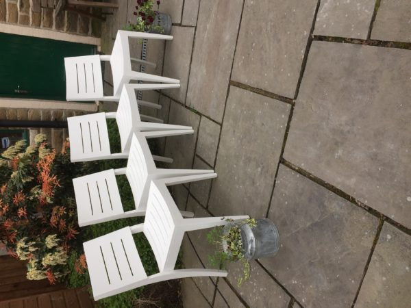 Fabulous Rare Retro Dining Chairs x 4